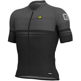 Alé Cycling Graphics PRR Slide SS Jersey Men black-charcoal grey